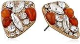 Sam Edelman Carnelian Cluster Stud Earrings