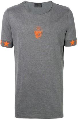 Philipp Plein skull logo T-shirt