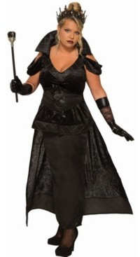 BuySeasons Women's Dark Queen Plus Adult Costume