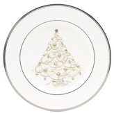 "Noritake Silver Palace"" Holiday Accent Plate"