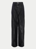 Frame Wide Leg Leather Trouser