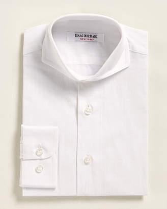 Isaac Mizrahi Boys 4-7) Grid Pattern Dress Shirt