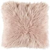 Apt2B Ophelia Shag Pillow BLUSH