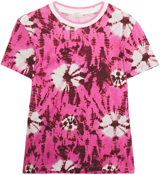 Zimmermann Tie-dyed Cotton-jersey T-shirt