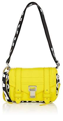 Proenza Schouler Women's PS1+ Mini Leather Crossbody Bag - Yellow