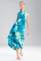 Natori N Blooming Mural Maxi Gown