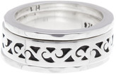Lois Hill Sterling Silver Classic 3 Stack Band Set - Size 5.5