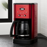 Crate & Barrel Cuisinart ® Brew Central 12-Cup Red Coffee Maker