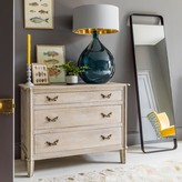 Graham and Green Chantilly Large Whitewashed Chest Of Drawers