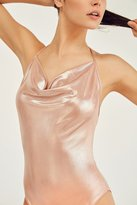 Out From Under Julia Metallic Bodysuit