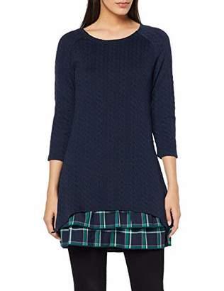 Joe Browns Women's Check Hem Tunic Long Sleeve Top,(Size:)
