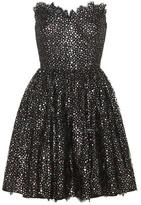 Saint Laurent Cotton-blend mini dress