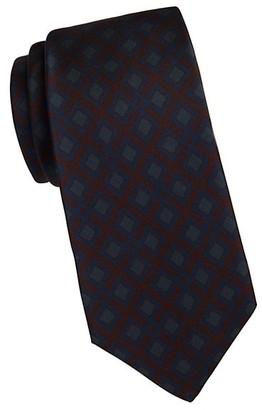 Kiton Box Diamond Silk Tie