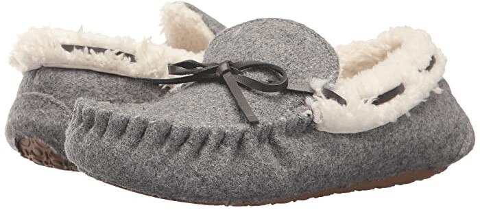 b4a984f1 Girls Moccasin Slippers - ShopStyle