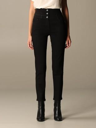 Patrizia Pepe Jeans In Dark Denim