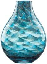 """Lenox Seaview Swirl Bottle 11"""" Vase"""