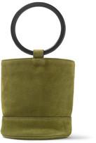 Simon Miller Bonsai 20 Nubuck Bucket Bag - Army green