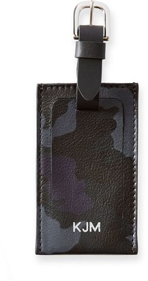 Mark And Graham Bond Leather Luggage Tag