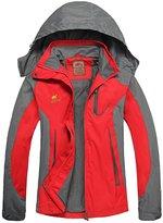 Diamond Candy Hooded Waterproof Jacket raincoat Softshell Women Sportswear GL