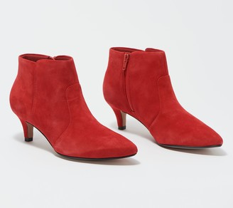 Clarks Collection Heeled Booties - Linvale Judith