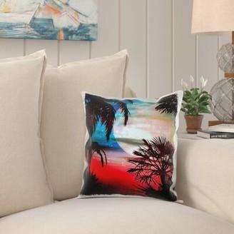 Bay Isle Home Rhett Hawaiian Sunset Pillow Cover Bay Isle Home