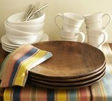 Pottery Barn Vintage Wood Charger