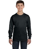Gildan Youth Heavy Cotton Long Sleeve T-Shirt - XS