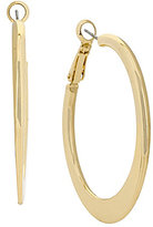 Kenneth Cole New York Knife-Edge Hoop Earrings