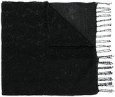 Twin-Set lace overlay scarf - women - Cotton/Acrylic/Polyamide/Viscose - One Size