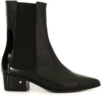 Laurence Dacade Valdo patent boots