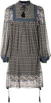 Ulla Johnson mini peasant dress - women - Silk/Polyester - 0
