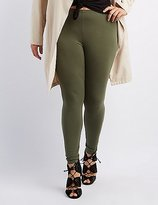 Charlotte Russe Plus Size Stretch Leggings