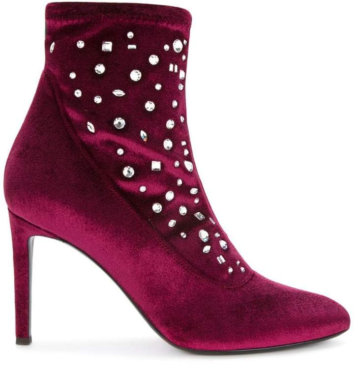 Giuseppe Zanotti Design Dazzling Celeste booties