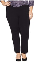 NYDJ Plus Size Plus Size Plus Size Cropped Boot Pull-On in Black (Black) Women's Jeans