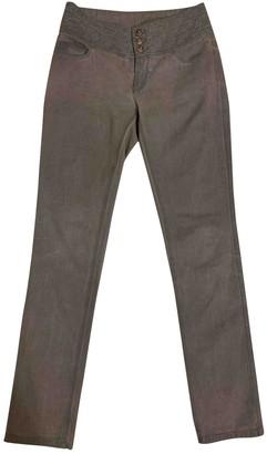 Chanel Grey Denim - Jeans Jeans for Women