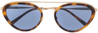 MCM Aviator Frame Sunglasses