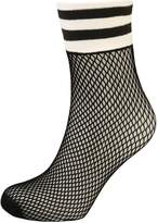 Free People RIOT SPORT FISHNET SOCK Socks black