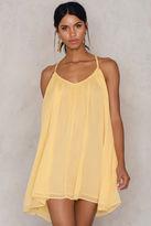 Thin Strap Chiffon Dress