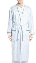Majestic International Men's 'Twilight Blue' Cotton Robe