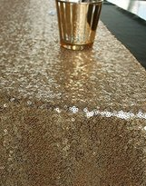 QueenDream 14 X 80 Inch Sequins Runner-Gold