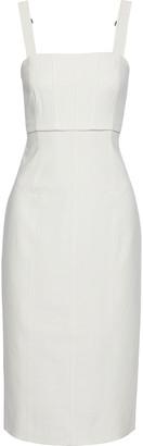 Cinq à Sept Dakota Cutout Cady Midi Dress