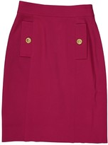 Celine Pink Wool Skirt for Women Vintage