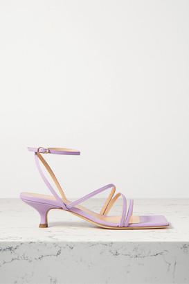 A.W.A.K.E. Mode Maya Leather Sandals - Lilac