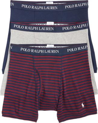 Polo Ralph Lauren 3-Pack Assorted Boxer Briefs