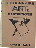 One Kings Lane Vintage Dictionnaire D'Art & D'Archeologie