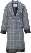 Prada Check Coat