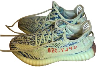 Yeezy Boost 350 V2 Green Cloth Trainers