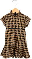Helena Girls' Houndstooth A-Line Dress w/ Tags