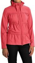 Neon Buddha Sassy Ruffle Jacket - Stretch Cotton Jersey (For Women)