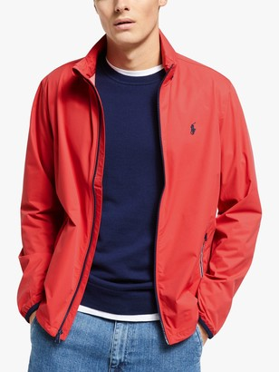 Ralph Lauren Polo Golf Packable Hooded Jacket, Sunrise Red